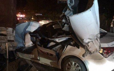 Таксист погиб в ДТП во Владимире