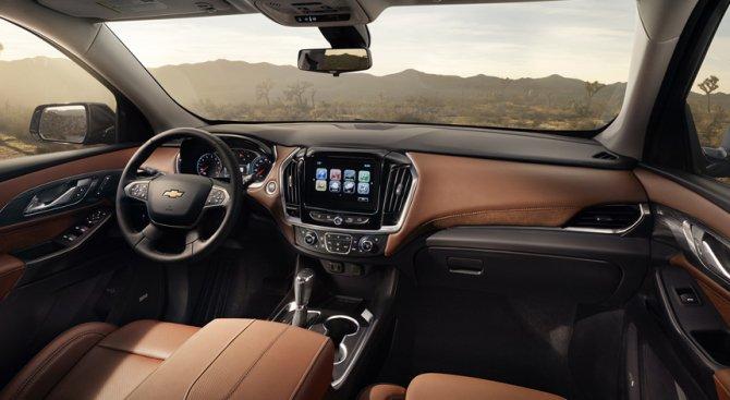 Chevrolet Traverse панель и руль