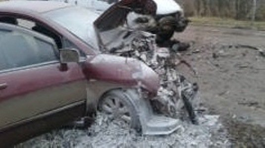Пять человек пострадали в ДТП с маршруткой под Тулой (1)