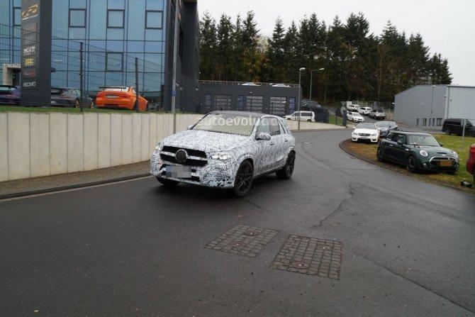 Обновленный Mercedes-AMG GLE 63 замечен на тестах (1)