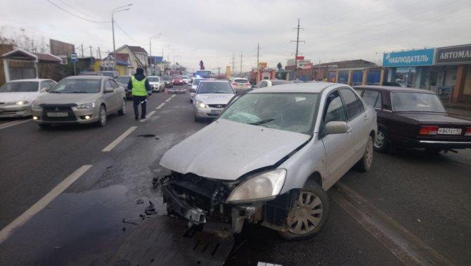 Женщина погибла в ДТП в Краснодаре (2)
