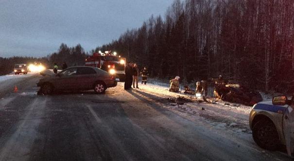 Два человека погибли в ДТП на трассе Нытва – Кудымкар в Карагайском районе
