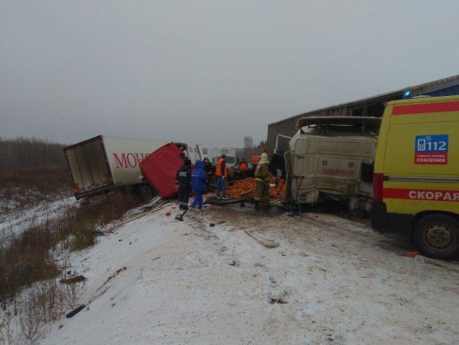 Оба водителя погибли в ДТП на трассе М-7 в Пестречинском районе (1)