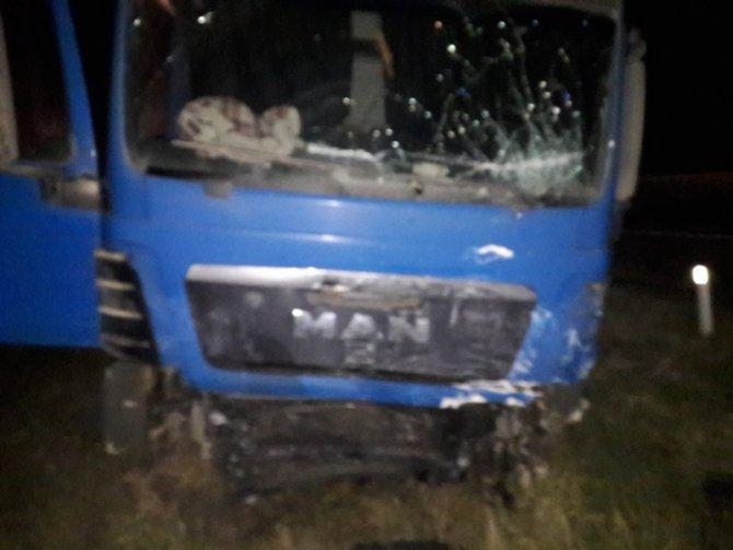 В Абинском районе в ДТП с грузовиком погиб водитель ВАЗа (2)