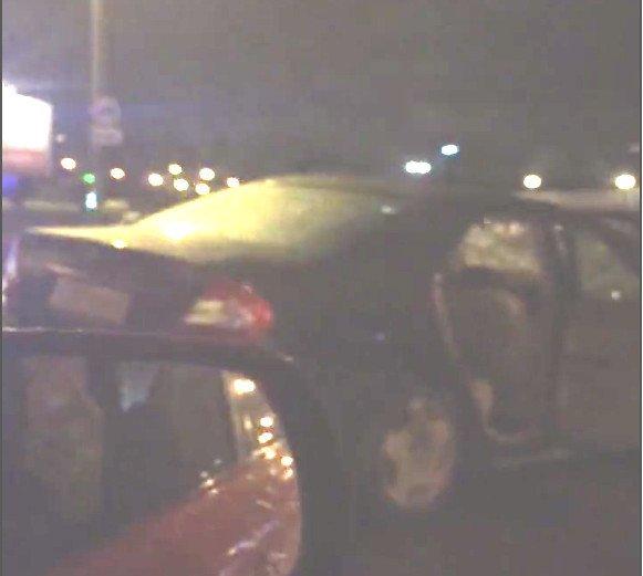 В Петербурге Toyota Camry влетела в грузовик – погиб водитель (1)
