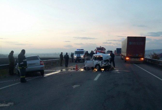 В КБР из-за уснувшего водителя в ДТП погибли три человека (2)