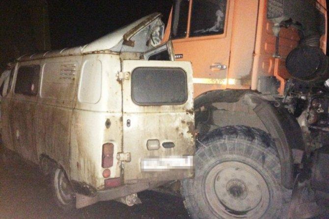 Водитель иномарки погиб в ДТП с КамАЗом на трассе Самара-Бугуруслан (2)