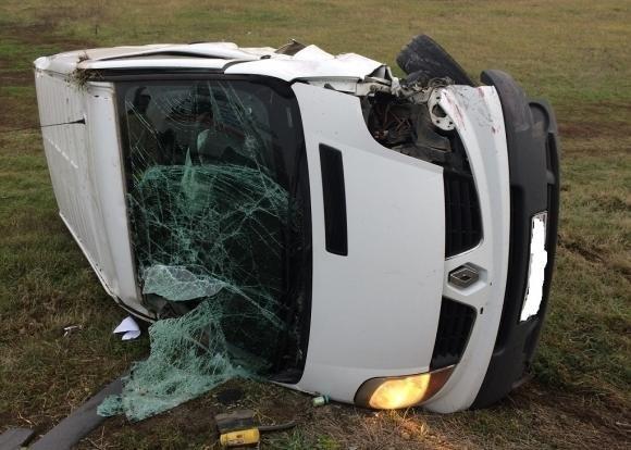 Водитель грузовика погиб в ДТП в Щербиновском районе Краснодарского края