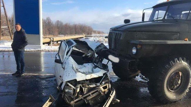 Водитель «Оки» погиб в ДТП на выезде из Оренбурга (1)