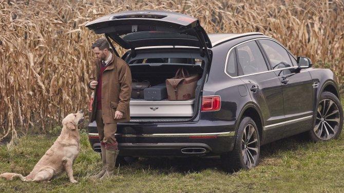 Bentley Bentayga получила «охотничью» версию (2)