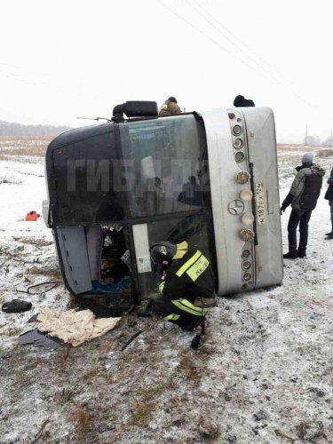 ДТП с автобусом,  7 ноября, на 989-м километре трассы Р-255