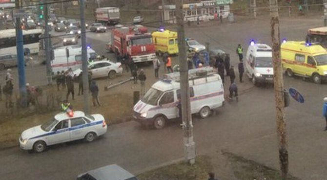 1,5-годовалый ребенок пострадал в ДТП в Перми