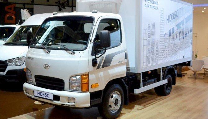 На российском рынке начались продажи грузового Hyundai HD35 City (1)