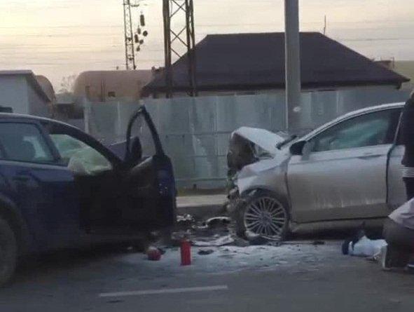 Водитель иномарки погиб во встречном ДТП в Краснодаре