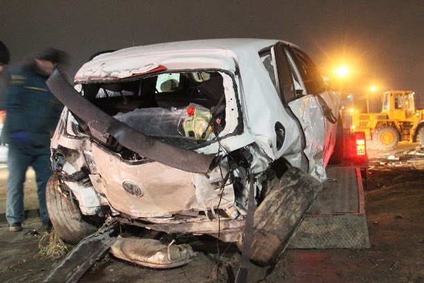 В Туле при столкновении двух автомобилей Volkswagen погиб мужчина (9)