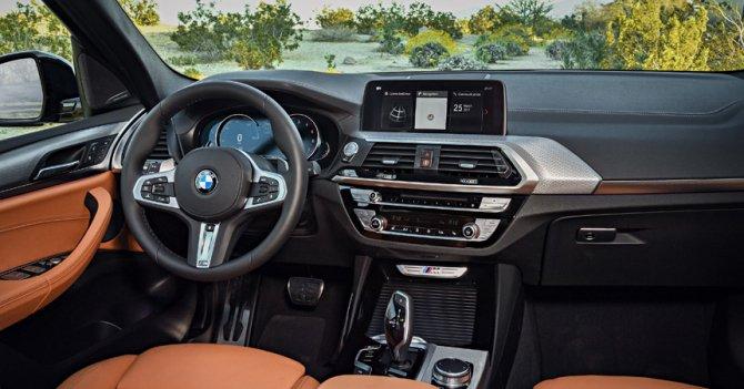 Салон нового BMW X3