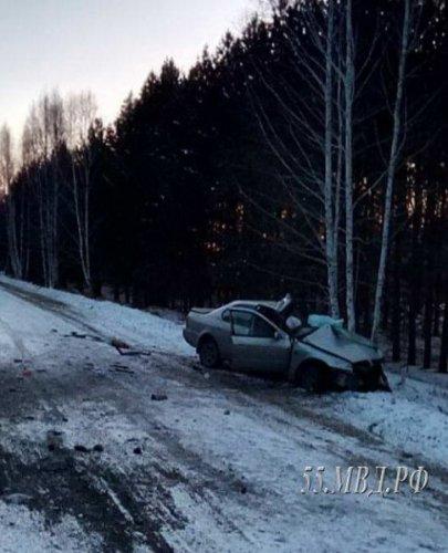 Девушка-водитель погибла в ДТП на трассе «Омск - Муромцево» (2)