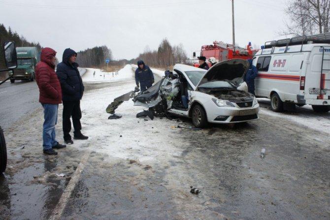 Две женщины погибли в ДТП под Нижним Тагилом (1)