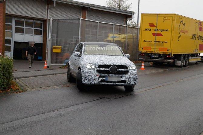 Обновленный Mercedes-AMG GLE 63 замечен на тестах (3)