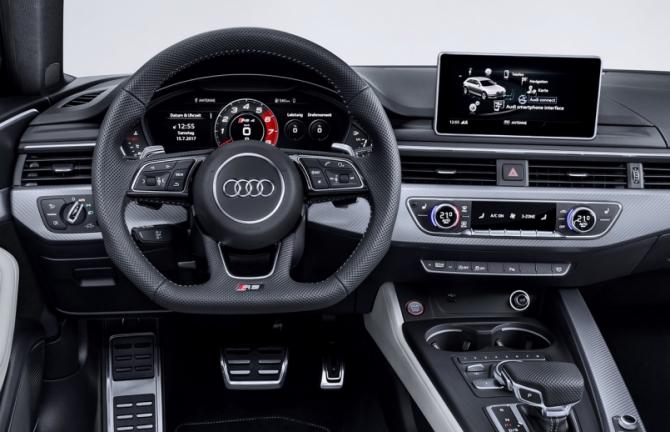Audi RS 4 Avant приборная панель