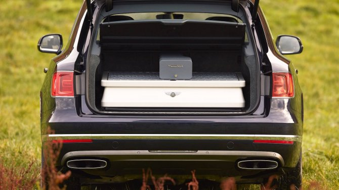 Bentley Bentayga получила «охотничью» версию (3)