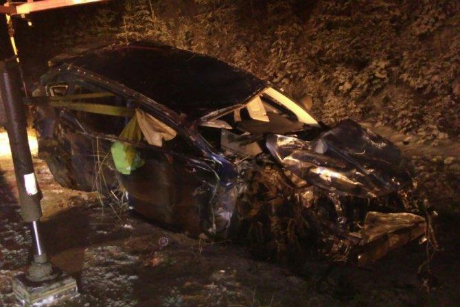 В массовой аварии на Восточном обходе Перми погибла молодая женщина (1)