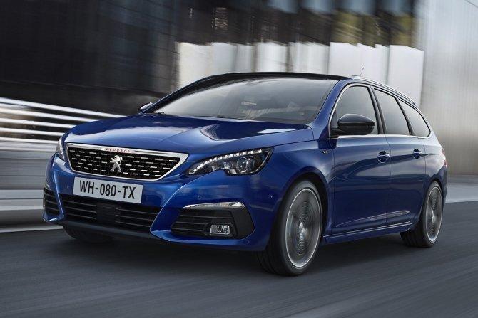 Обновленный Peugeot 308 приедет в Россию в ноябре