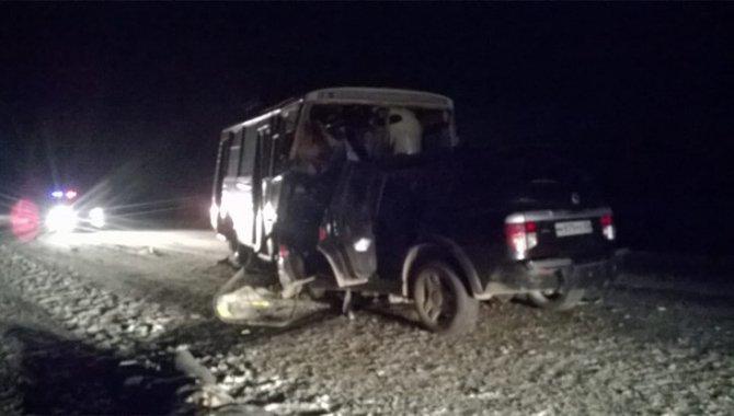 Водитель SsangYong погиб в ДТП под Томском (1)