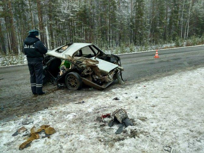 6-месячный ребенок, которого перевозили в коробке, пострадал в ДТП в Свердловской области (1)