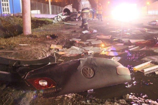 В Туле при столкновении двух автомобилей Volkswagen погиб мужчина (5)