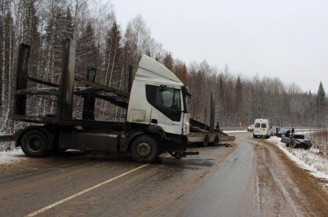 Два человека погибли в ДТП на трассе Кукуштан – Чайковский (2)