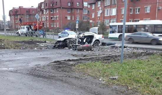 В Пушкине произошло смертельное ДТП