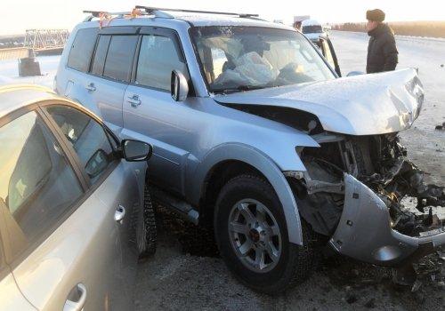 25-летний водитель иномарки погиб в ДТП на трассе Тюмень - Омск в Любинском районе