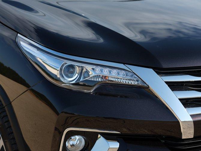 Toyota Fortuner оптика