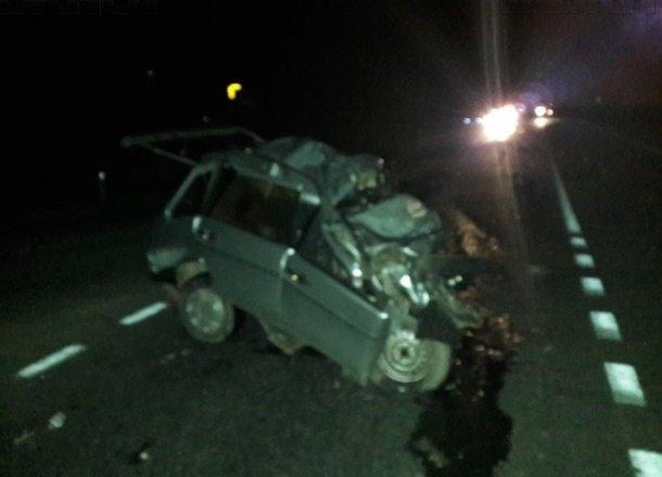 В Абинском районе в ДТП с грузовиком погиб водитель ВАЗа (1)