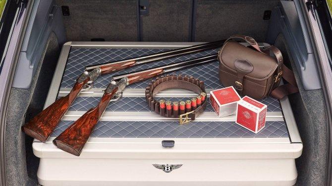 Bentley Bentayga получила «охотничью» версию (4)