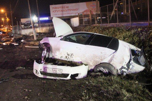 В Туле при столкновении двух автомобилей Volkswagen погиб мужчина (2)