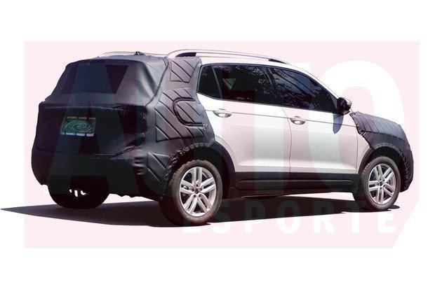 В Сети появился первый снимок серийного Volkswagen T-Cross