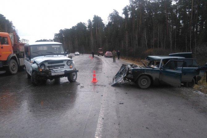 Молодой человек погиб в ДТП на трассе «Камышлов - Шадринск» в Свердловской области