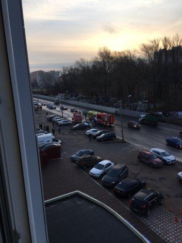 Два человека погибли в ДТП с КамАЗом в Петербурге (1)