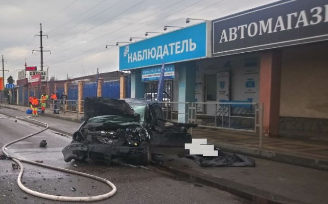 Женщина погибла в ДТП в Краснодаре (1)