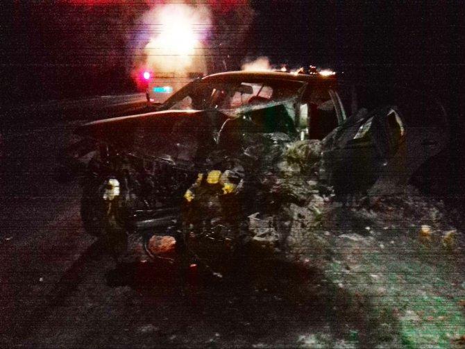 Водитель иномарки уснул и устроил смертельное ДТП под Екатеринбургом