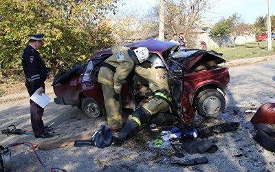 ДТП в Крыму: погибший ребенок и 10 пострадавших