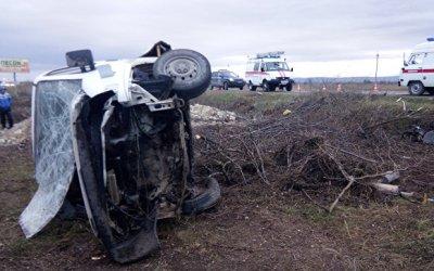 Два человека погибли в тройном ДТП под Симферополем