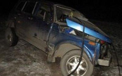 Водитель «Нивы» погиб в ДТП на вологодской трассе