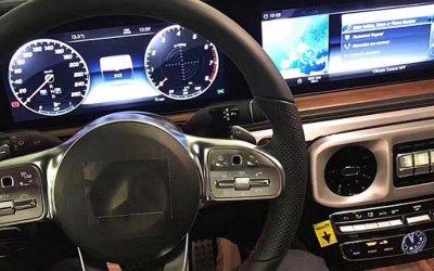 В Сети появились фото салона нового Mercedes-Benz G-Class Gelandewagen