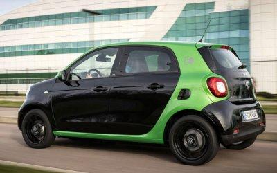 Электрический Smart в России начнут продавать уже в 2018 году