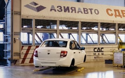 Универсалы Lada Vesta начнут собирать в Казахстане