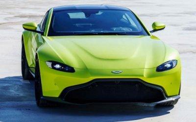 Новый Aston Martin Vantage поступит в продажу в 2018 году