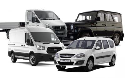 Топ-5 легких коммерческих авто: три русских, немец и американец